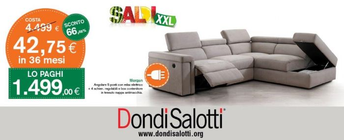 Offerta divano antimacchia angolare a Ancona - SiHappy