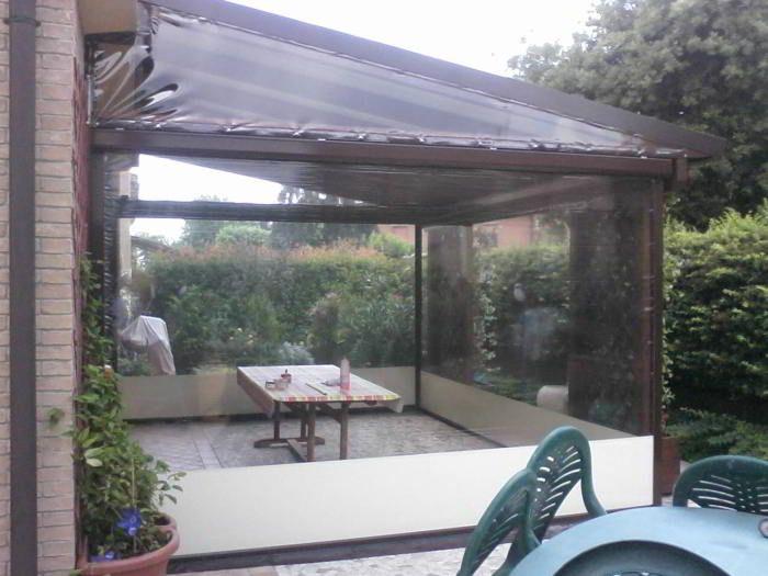 Tende Di Plastica Per Esterni Prezzi.Tende Trasparenti Per Balconi Prezzi Tenda Veranda Con Cristal
