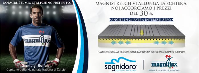Offerta Materasso MagniStretch Magniflex - Promozione... - SiHappy