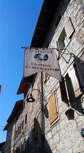 OSTERIA GALLO CEDRONE Erto e Casso foto 1
