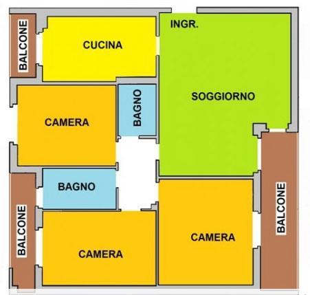 Vendita appartamento quadrilocale brembate sopra in - Piscina di brembate sopra ...