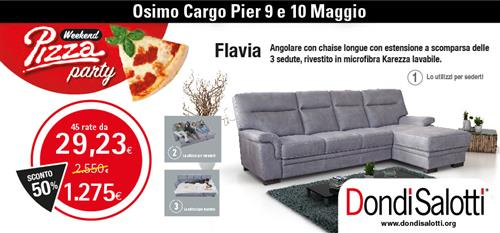DONDI SALOTTI PIZZA PARTY a Ancona - SiHappy