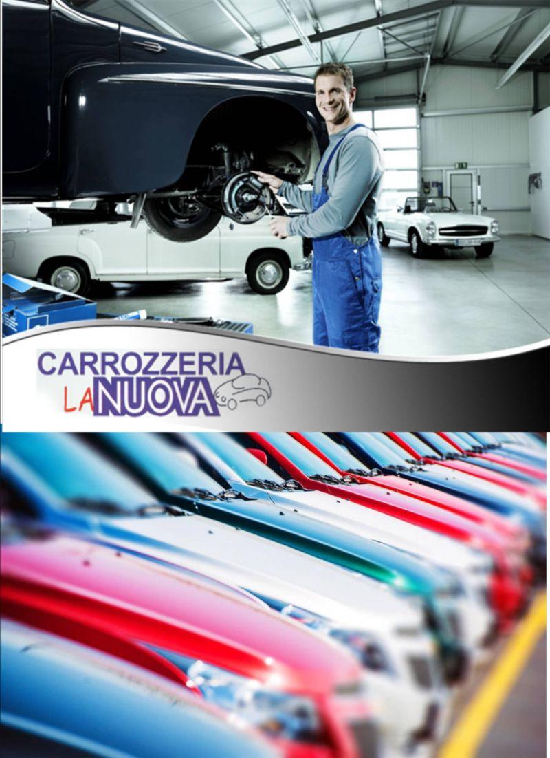Offerta riparazioni assistenza ricambi auto moto - Promozione riparazione della carrozzeria