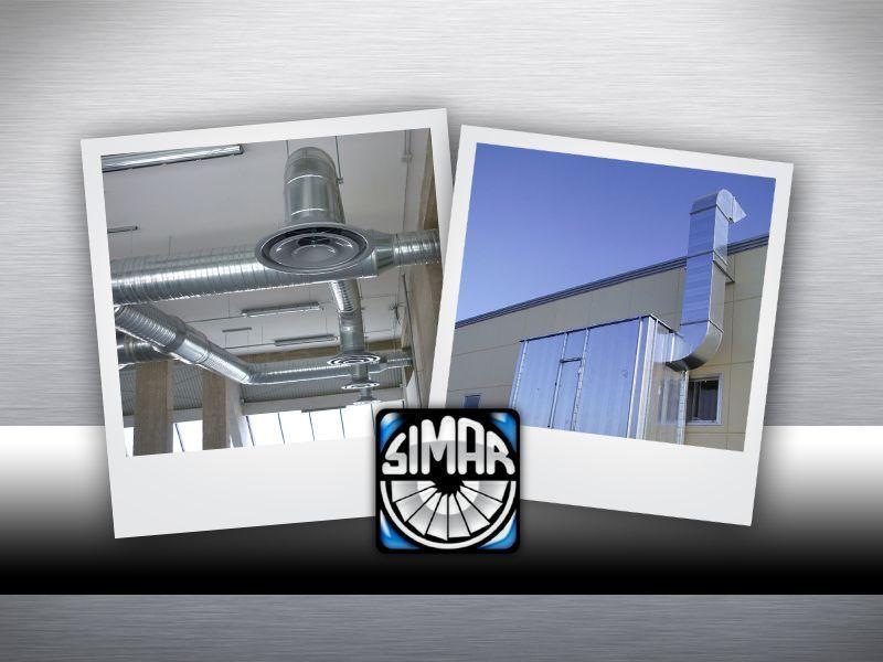Simar - Offerta canne fumarie  uso abitativo - Promozione canne fumarie uso industriale