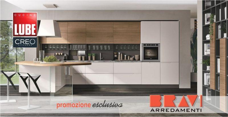 offerta vendita cucina LUBE su misura - promozione cucina creo completa di elettrodomestici