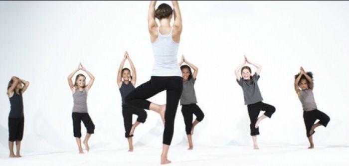 corso yoga per bambini in palestra a treviso