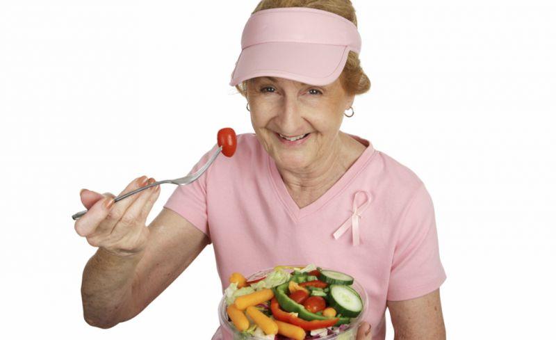 Terza età: mangiare bene e rimanere in salute