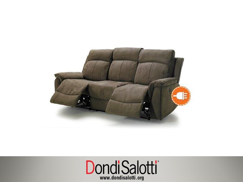 Offerta divano antimacchia relax elettrico a Ancona - SiHappy