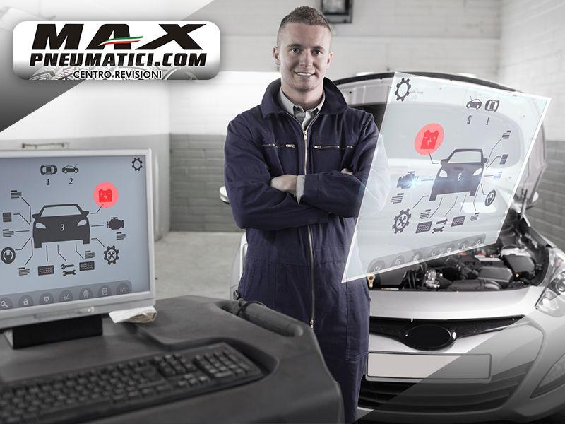 Offerta Centro Revisioni Autorizzato - Promozione Centro Revisioni Autorizzato - Max Pneumatici