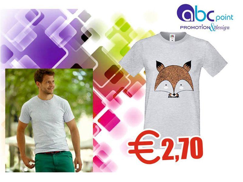 T-shirt personalizzata - Abc point