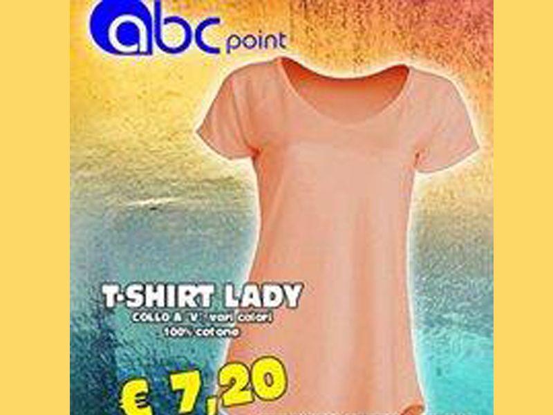 T-shirt Lady - ABC Point