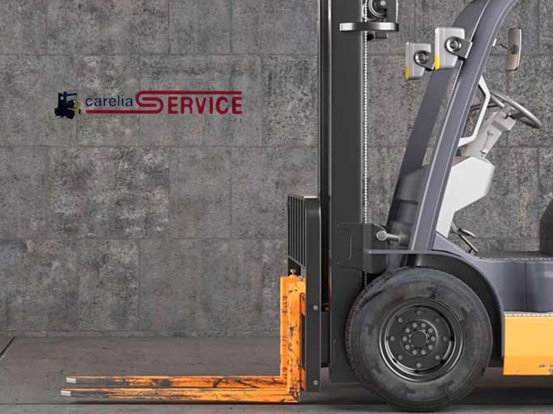 noleggio riparazione e assistenza carrelli elevatori e piattaforme aeree carelia service