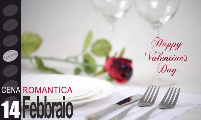 promozione cena di san valentino - occasione regalo di san valentino - messer chichibio