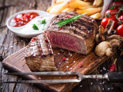 menu di carne alla pizzeria la tavernetta