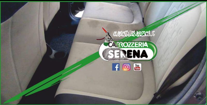 offerta lavaggio sedili auto-promozione igienizzazione tappezzeria baule interni auto