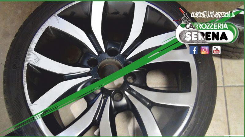 offerta verniciatura cerchi in lega-promozione carrozzeria specializzata rigenerazione cerchi