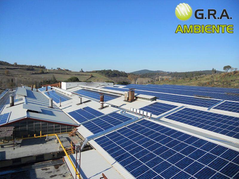 GRA Ambiente - Offerta Installazione e Manutenzione Pannelli Isolanti e Fotovoltaici
