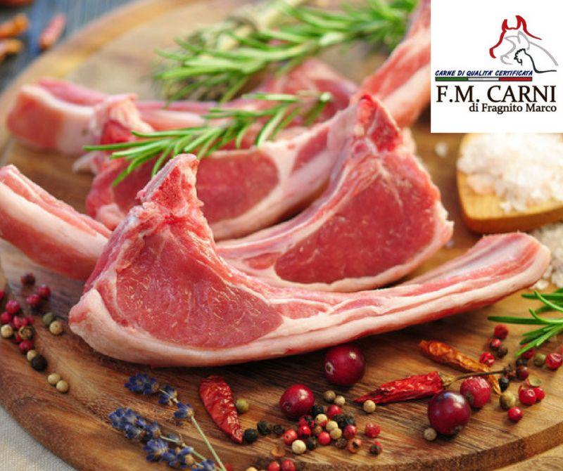 Da F.M Carni ti aspetta  la tagliata di agnello ad euro 7,90 al kg