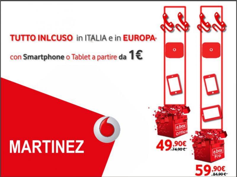 promozione vodafone business ebox office martinez