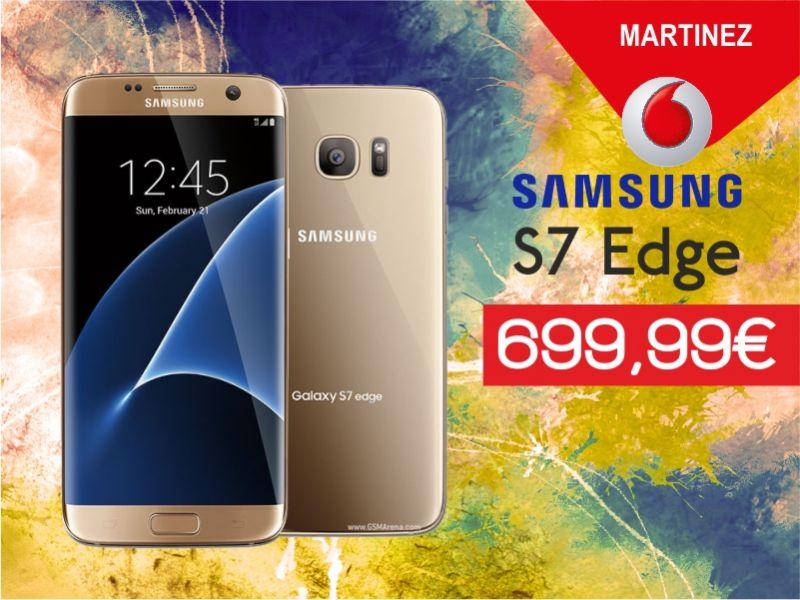 offerta samsung galaxy s7 edge promozione smartphone vodafone store martinez