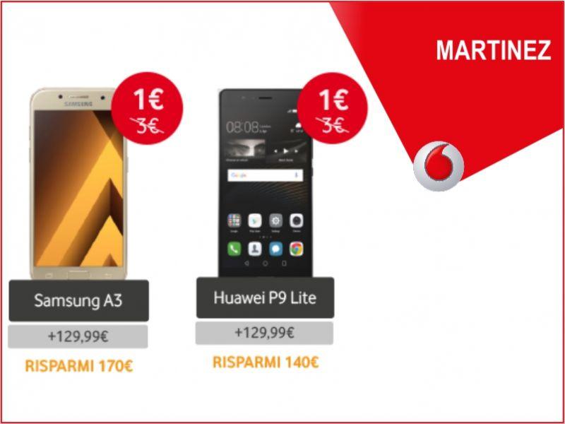 offerte smartphone promozione telefono vodafone store martinez