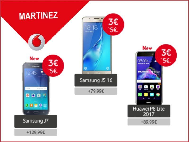 offerta smartphone a rate promozione vodafone vodafone store martinez
