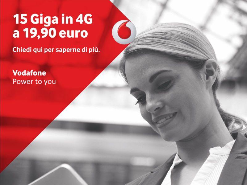 promozione gigabyte - offerta internet - Vodafone Store Martinez