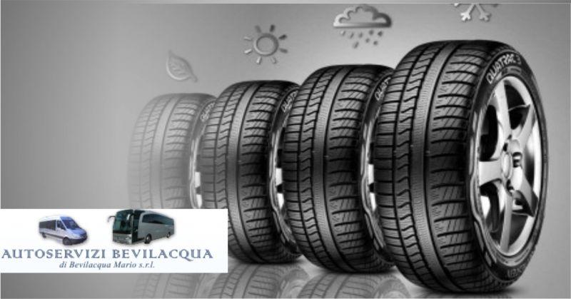 offerta Vendita e sostituzione pneumatici - promozione  vendita e cambio gomme auto