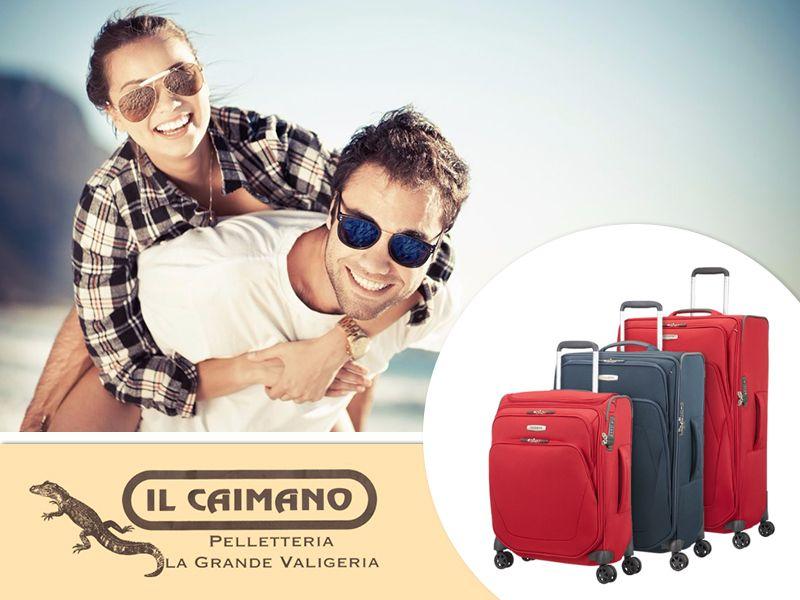 Offerta Valigeria Samsonite - Promozione Trolley Samsonite - Il Caimano