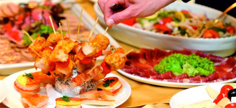 promozione offerta occasione pranzo a buffet fano