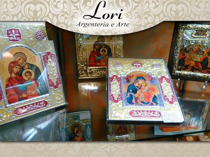 offerta vendita icone greche bizantine - occasione icone arte bizantina - lori argenteria roma