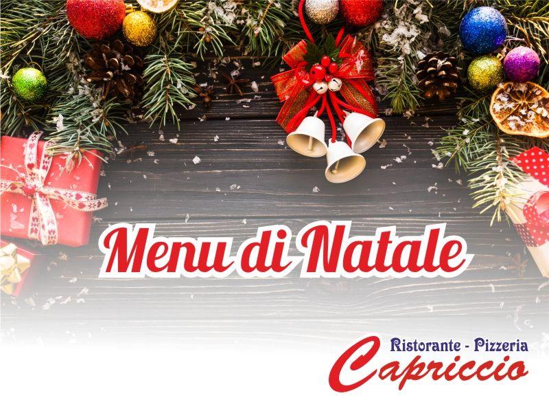 Offerta Menu Natale - Promozione pranzo natale - Ristorante Capriccio Valderice