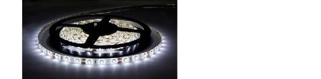 STRISCIA 300 LED SMD 3528 IN/OUT IP65 BIANCO FREDDO