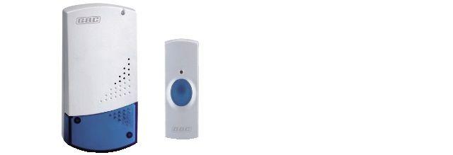 campanello wireless con pulsan e ricevit 230vca