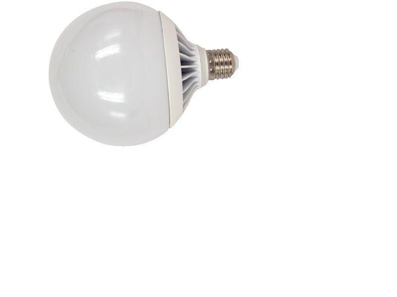 lampadina led globo 120mm e27 18w luce fredda