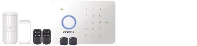 kit antifurto wireless con combinatore telefonico gsm