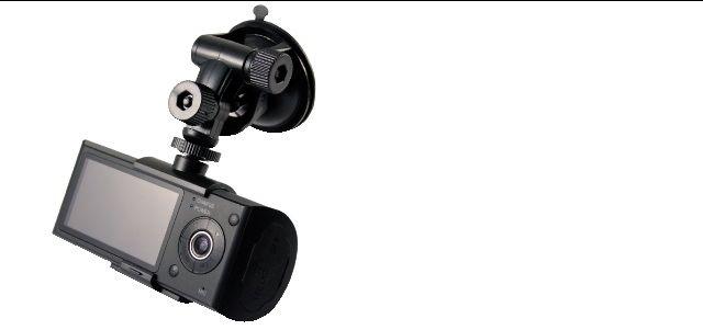 sistema di videoregistrazione per automezzi con 2 telecamere