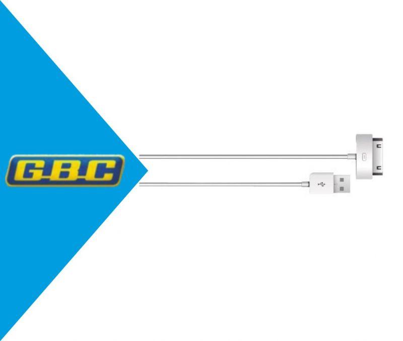 CAVO APPLE DOCK / USB BIANCO E NERO 1M