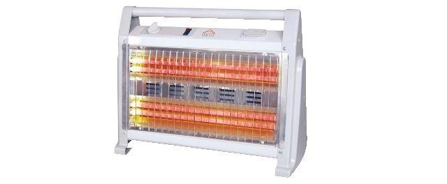 stufa al quarzo c ventilatore e umidificatore