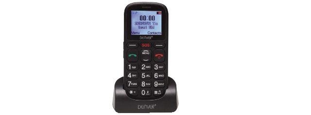 TELEFONO CELLULARE GSM DUAL BAND DENVER
