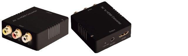 MINI CONVERTITORE AV RCA / HDMI