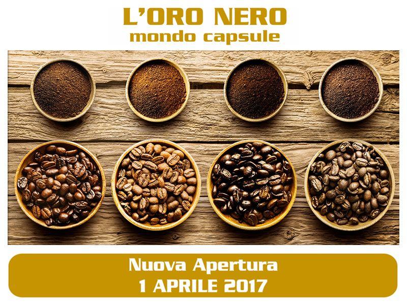 Offerta Capsule Caffè Piombino - Occasione Negozio Capsule Caffè Piombino - L'ORO NERO