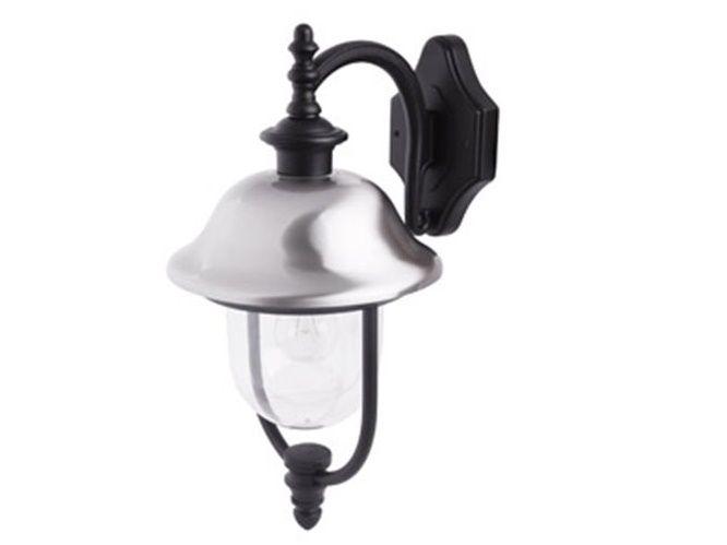lampada lanterna per esterni silver