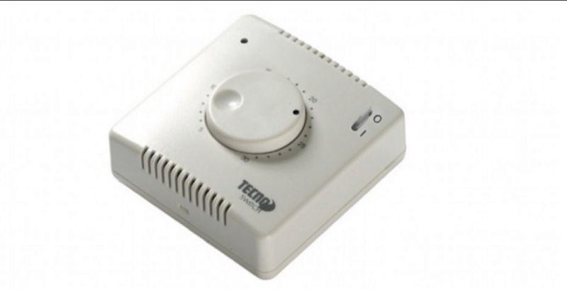termostato ambiente meccanico con interruttore