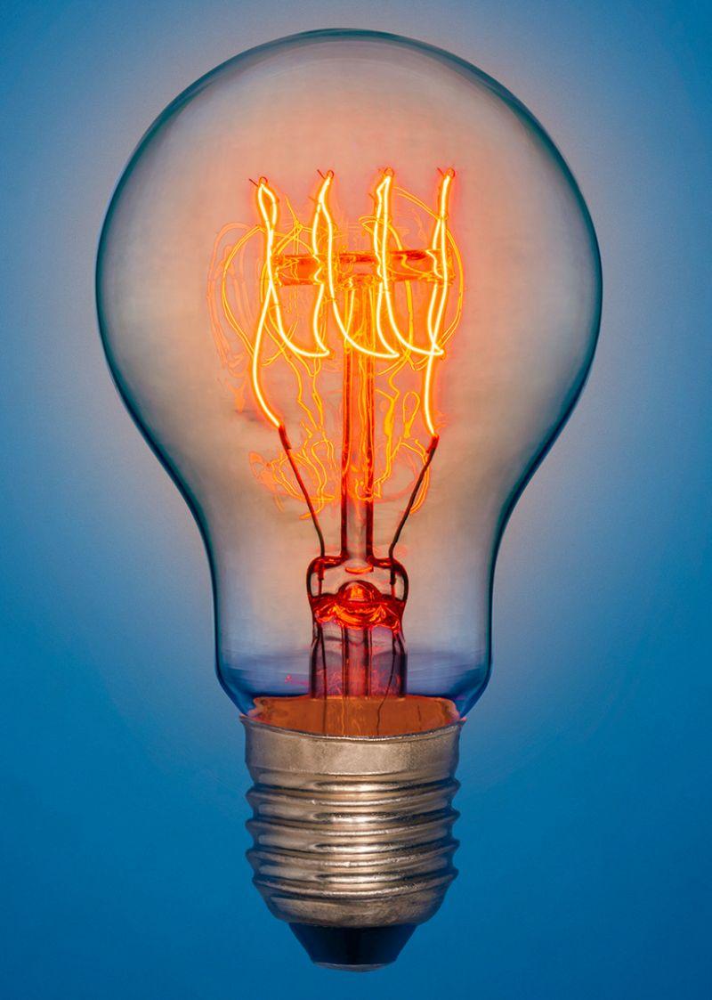 lampada a incandescenza airam antique classic design