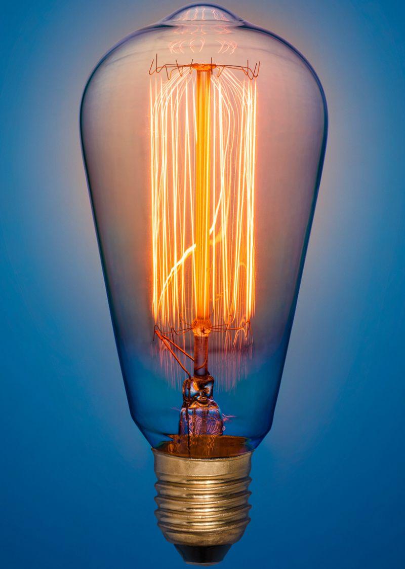 lampada a incandescenza airam antique edison design