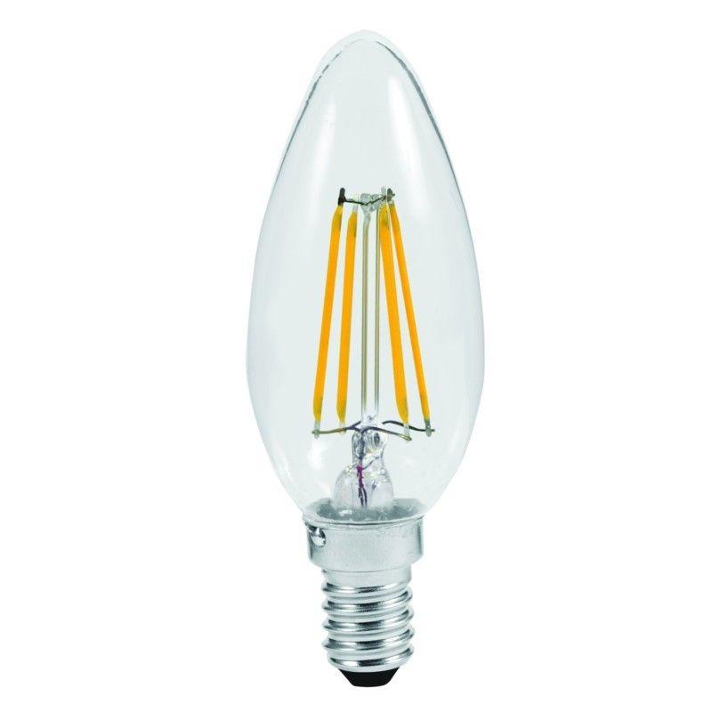 lampada led a filamento candela