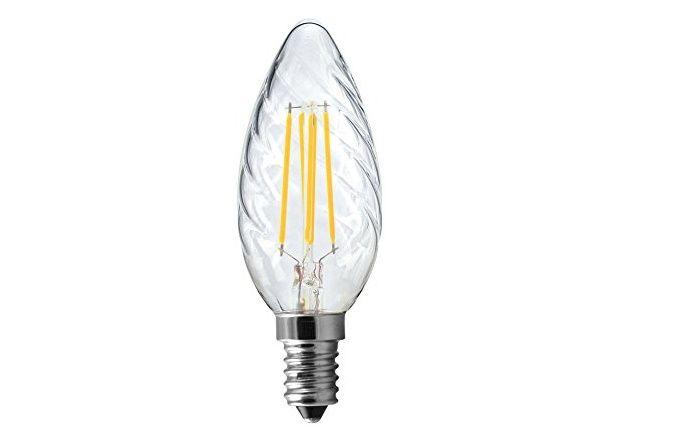 lampada led a filamento tortiglione