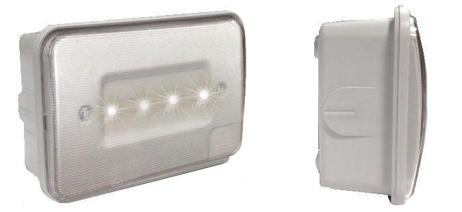lampada demergenza led dimensioni ridotte