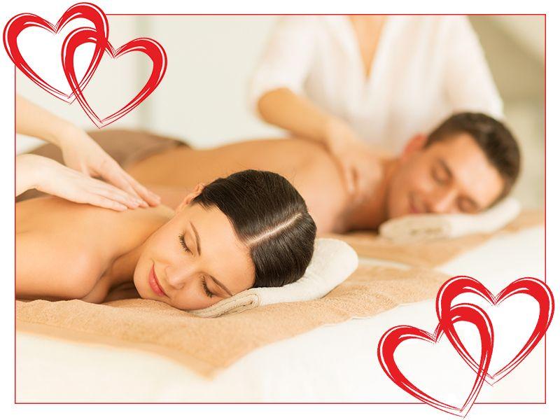 offerta massaggio di coppia promozione massaggio san valentino angoli di cielo